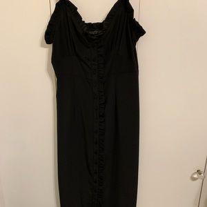 Button up slip dress